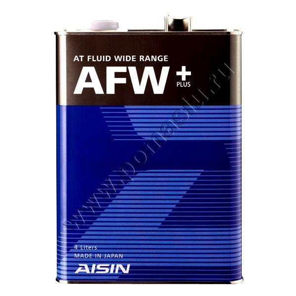 Aisin ATF Wide Range AFW+ Трансмиссионная жидкость 4л