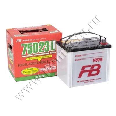 Аккумулятор SUPER NOVA 75D23L