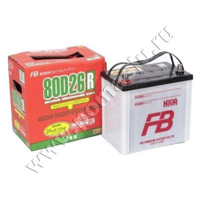 Аккумулятор SUPER NOVA 80D26 L/R