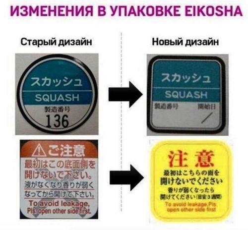 Eikosha Как отличить от подделки