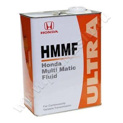 Жидкость для вариатора HONDA HMMF 4л