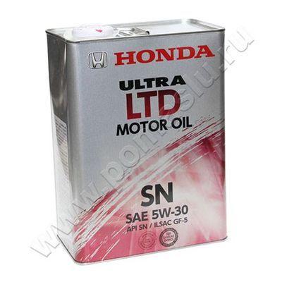 08218-99974 Honda ultra sn 5w-30 моторное масло 4л