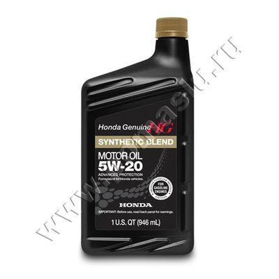 HONDA 5W-20 Моторное масло Genuine HG 946мл