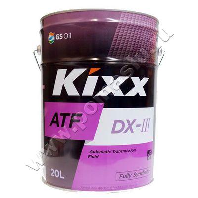 KIXX ATF DX III жидкость для АКПП 20л
