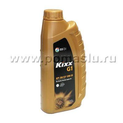 KIXX G1 SN CF 10W30_1L_www.pomaslu.ru
