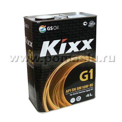 KIXX G1 SN CF 10W40_4L_www.pomaslu.ru