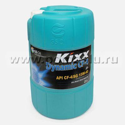 KIXX_DYNAMIC_CF-4_15W-40_25L