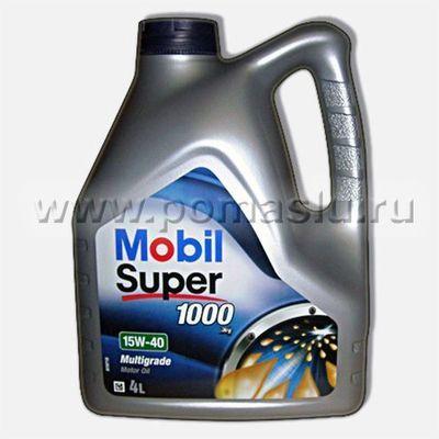 Mobil_SUPER_1000 X1_15W-40_4L