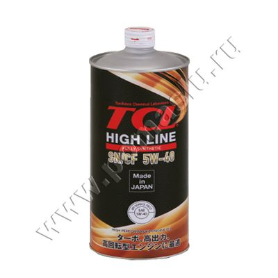 TCL HIGH LINE 5W40 1L