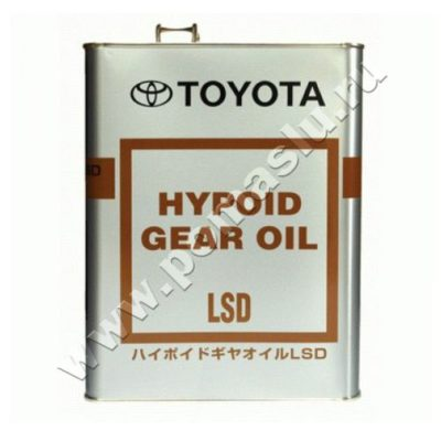 TOYOTA GEAR OIL LSD 85W90 GL-5 4l