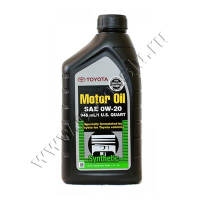 TOYOTA Motor Oil 0W20 946Ml