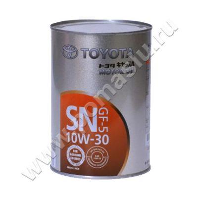 Моторное масло Тойота SN 10W-30 1л