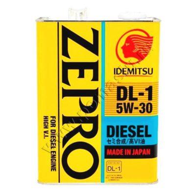 IDEMITSU Zepro Diesel 5W30 DL-1 Моторное масло 4л