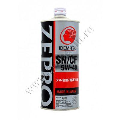 Zepro EURO SPEC 5W-40 Моторное масло 1л