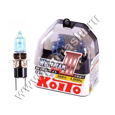 Лампа Koito H3c 4000к Whitebeam 12в