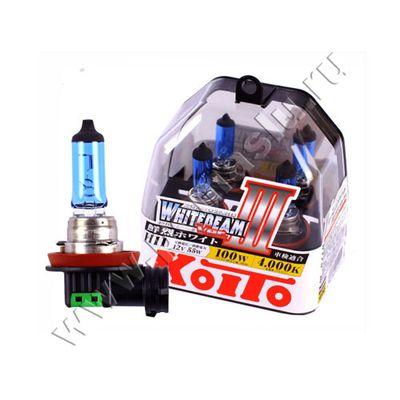 Лампа Koito H11 4000K Whitebeam 12v