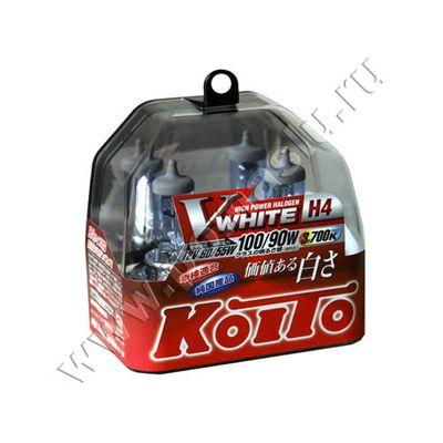 Лампа Koito H4 3700K Whitebeam 12v