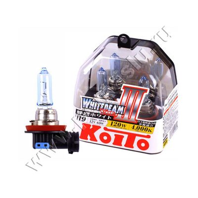 Лампа Koito H9 4000K Whitebeam 12v