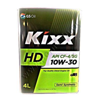 KIXX HD 10W-30 CF-4 Моторное масло для дизельных двигателей 4л