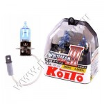 Koito Whitebeam III H3 4000K 12V 55W (100W) лампы галогенные 2 шт.