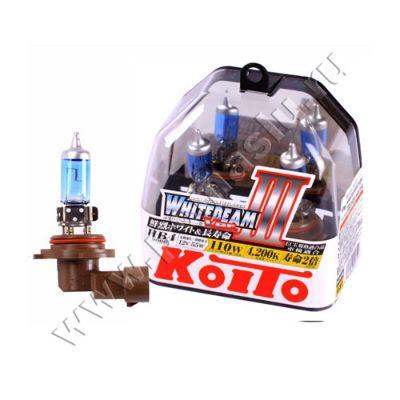 Koito HB4 Whitebeam III 4200K 12V 55W (110W) лампы галогенные — 2 шт.