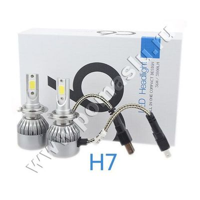 lampa-led-c6-cob-h7