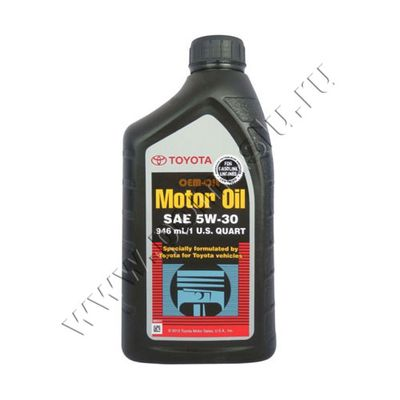 TOYOTA 5W30 мотрное масло